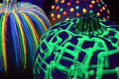 iLoveToCreate Blog: DIY Glow In The Dark Pumpkins