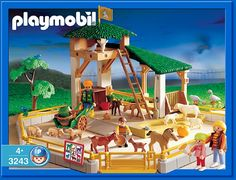 PLAYMOBIL� set #3243 - Petting Zoo