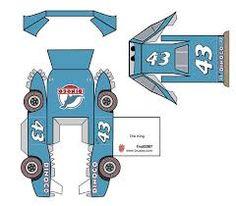 Resultado de imagem para papercraft disney cars pixar para imprimir