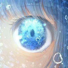 Beautiful anime eyes