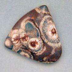 Birds Eye Rhyolite  Hand Cut Freeform Gemstone by WildRavenStudio, $22.00