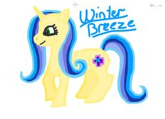 This is one of my really close friends oc I made for them the cutie mark it under progress thow.