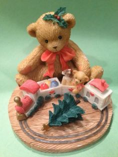 Cherished Teddies Always Stay on Track About The True Meaning of Christmas |