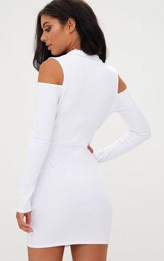 52b00c7de876 41 Best Cold Shoulder Dress images | Club dresses, Curve mini ...