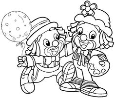 Bear Coloring Pages, Unicorn Coloring Pages, Pattern Coloring Pages, Adult Coloring Pages, Coloring Pages For Kids, Coloring Sheets, Coloring Books, Kids Colouring, Clown Party