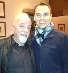 In Geneva with fave writer and friend Paulo Coelho. I interviewed him last year for his book and finally met in person. Such a legend, such a good man. 140,000,000+ books sold. The Alchemist still my fave. Our interview: http://www.expertsacademy.com/paulo/