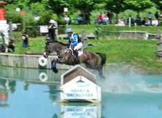 Phillip Dutton and Mystery Whisper - USET Eventing