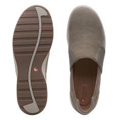 f2e30f81072 Un Adorn Step - Womens Shoes - Taupe Nubuck by Clarks