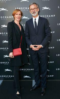 Vienna Flagship Opening - Nicole Beutler and Jean Cassegrain