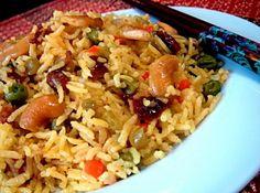 Vegetarian Indian Food Recipe | Indian vegetarian rice | Food-4Tots | Recipes for Toddlers