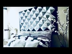 Origami Mosaic Tutorial (Hexagonal Pyramid Pieces) - YouTube