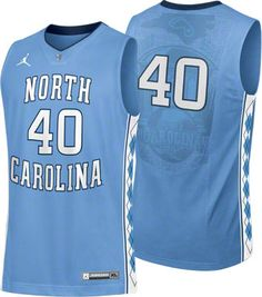 c194f8fc13750 North Carolina Tar Heels NCAA Nike Light Blue Replica Basketball Jersey  Basketball Uniforms
