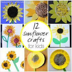 Oh how I love bright yellow Sunflower Crafts! We've made a few over the past few years but recently I have been admiring some beautiful sunflowers from fellow kids craft bloggers. I've put together a round up of my favorites and hope these 12 Sunflower Crafts for Kids inspires you to get creating with your …