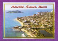 Mazatlan, Sinaloa, Mexico - postcard