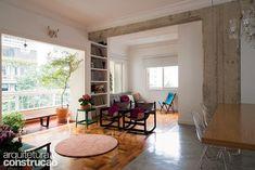Revista Arquitetura e Construção - Reforma em apartamento recuperou detalhes originais de um prédio histórico