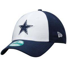 finest selection d9a53 9c940 New Era Dallas Cowboys 9FORTY League Adjustable Hat - Navy Blue White