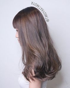 Beige ash Brown with babylights ********** CLEO hair international call here 63385250 for book appointment Hair done by @takuyaxtakuya #hair #haircolor #hairstyle #japanese #hairstylist #singapore #singaporean #color #colors #colour #colours #highlight #highlights #babylights #babylightsombre #ombre #balayage #takuyahair #cleohairsg #colourmelt #transformation #makeover #ash #beige