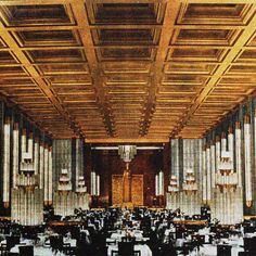 1935   FITTING OUT THE NORMANDIE LUXURY LINER René Lalique was commissioned for a series of high-profile projects. These included decorating the famous fashion designer Madeleine Vionnet's haute couture salons, designing glass doors for Prince Yasuhiko Asaka's residence in Tokyo and creating the fountain which for a time decorated the Galerie des Champs-Elysées in Paris. He then participated in the interior design of the vast first-class dining room of the luxury liner Normandie. He…