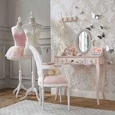 Bougeoir fleur en céramique rose H 6 cm TUILERIES | Maisons du ...