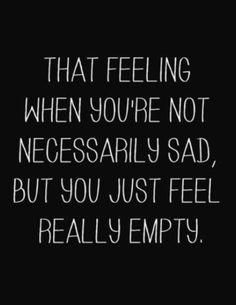 Nothing to be sad about #justblah