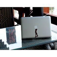 skinat verwijderbare diy grappige leuke mooie benen en laptop sticker voor je tablet-computer en MacBook Air 135 * 205mm - EUR € 6.35