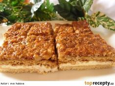 Czech Recipes, Russian Recipes, Ethnic Recipes, Eastern European Recipes, Sweet Cooking, Sweet And Salty, Banana Bread, Deserts, Dessert Recipes