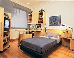 cama e luminarias 20 quartos que seu filho vai querer ter - Casa