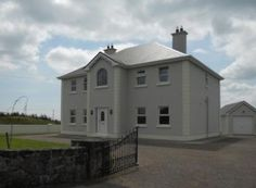Attractive 4 bed family home with a generous floor area of SqM Sq Ft) located on a large site of C. acres close to all the amenities and within an easy commute of Galway city Acre, Property For Sale, Ireland, Home And Family, Shed, Outdoor Structures, Flooring, City, Lean To Shed