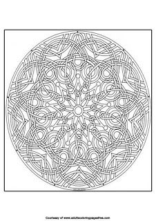 mandala coloring pages for experts