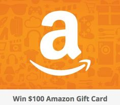A $100.00 Amazon gift card is yours to win. The more entries you complete, the more chances to win!