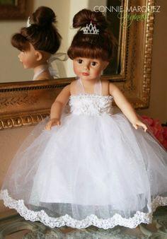 AMERICAN Girl Princess Wedding 18 inch doll von ConnieLMarquez