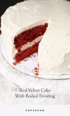 Recipe Flashback: Red Velvet Cake With Its Original Frosting