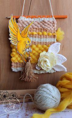 Spring weaving by Riikka Kovasin for Prima Marketing