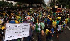 osCurve Brasil : A direita se uniu com o objetivo de derrubar Dilma...
