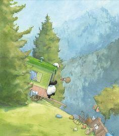 """Gipsy Panda"" - By Quentin Gréban - Edition Mijade"