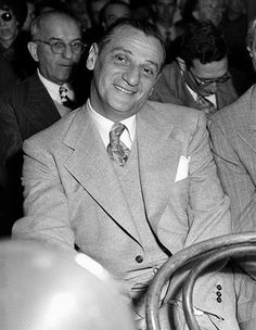 """Morris """"Moe"""" Dalitz (December 25, 1899 – August 31, 1989) — known as Moe Dalitz — was an American bootlegger, racketeer, casino owner and philanthropist who was one of the major figures who helped shape Las Vegas, Nevada in the 20th century. He was often referred to as """"Mr. Las Vegas."""""""