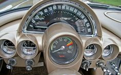1961 Chevrolet Corvette dash