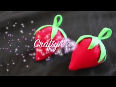 DIY: Como Hacer Fresa De Fieltro (Tutorial fácil)