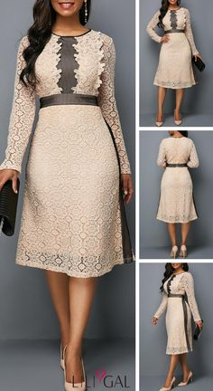 a19bc694d5 Neutral color palettes and unique touches make this dress a no brainer.Cozy  up to winter s latest styles with savings from Rotita. LILIGAL · Fashion  Dresses