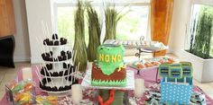 ESTILO EXCLUSIVE: 'Survivor' Theme Birthday Party