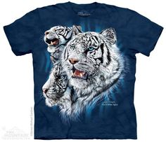 The Mountain - Find 9 White Tigers T-Shirt, $20.00 (http://shop.themountain.me/find-9-white-tigers-t-shirt/)