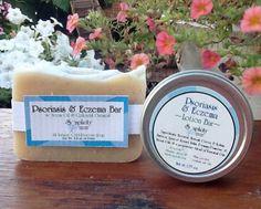 Psoriasis & Eczema Soap & Lotion Bar Bundle, All-Natural