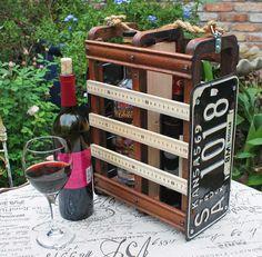 Wine Liquor Beer Caddy Beer Yardsticks License Plate Kansas Storage Sewing Machine Drawers