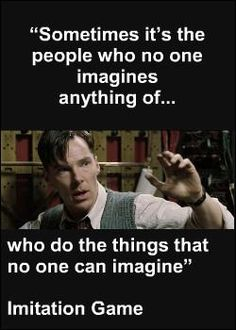 The Imitation Game  just saw this movie it was AMAZING!  I absolutely loved it, it was wonderfully thought out and just great overall.  I knew the story already, too.