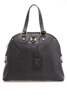 YSL Large Muse Leather Satchel