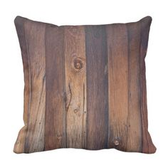 BARN BOARD THROW PILLOW - home gifts ideas decor special unique custom individual customized individualized