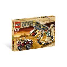 Lego 7325 Het vervloekte Cobrastandbeeld