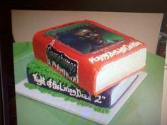 Goosebumps cake