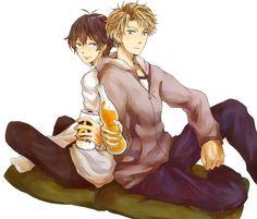 Hiroshi x Handa Annoying Kids, Barakamon, Boyxboy, Summer Time, Handsome, Tumblr, Anime, Fictional Characters, Ships