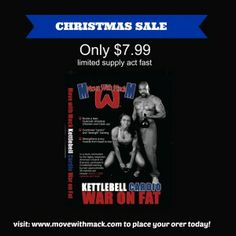 My #Kettlebell Cardio DVD in on sale for only $7.99